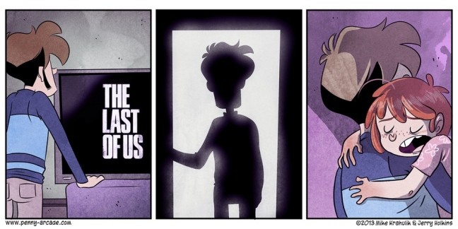 The Last Of Us Penny Arcade